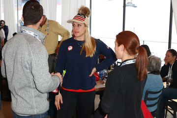 Jamie Greubel Poser USA House at the PyeongChang 2018 Winter Olympic Games
