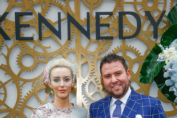 Jamie Kennedy Celebrities Attend Stakes Day