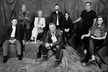 Jamie Lee Curtis Don Johnson Photocall For Lionsgates' 'Knives Out'