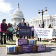 Jamie Manson 400,000 People, Ultra Violet, NARAL, MoveOn, Moms Rising Urge Senate to Protect Abortion Rights