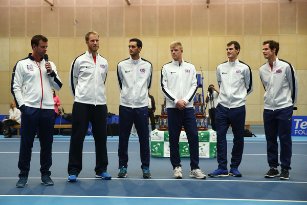 The Victorious Great Britain Davis Cup Team Visit Downing Street