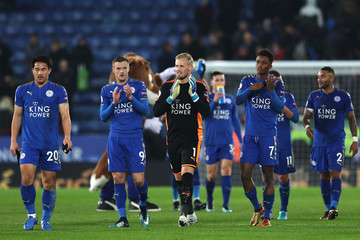 Jamie Vardy Leicester City v Burnley - Premier League