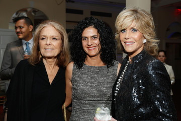 Jane Fonda Gloria Steinem Women's Media Awards Reception