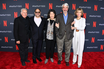 Jane Fonda Sam Waterston FYC Event For Netflix's 'Grace And Frankie'