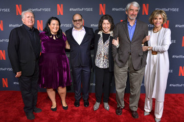 Jane Fonda Sam Waterston Netflix FYSEE 'Grace And Frankie' ATAS Official Red Carpet And Panel
