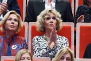Jane Fonda (R) attends the Prix Lumiere 2018 At 10th Film Festival Lumiere on October 19, 2018 in Lyon, France.