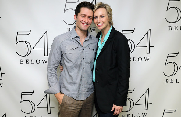 Image result for jane lynch and matthew morrison