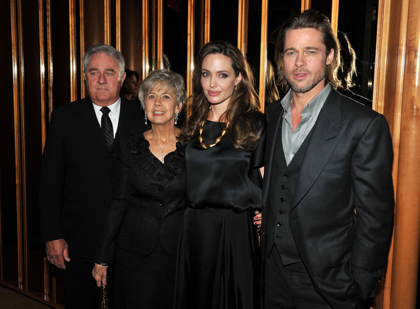 """In The Land Of Blood And Honey"" New York Premiere - After Party [in the land of blood and honey,suit,event,formal wear,tuxedo,little black dress,official,jane pitt,brad pitt,angelina jolie,bill ptt,the standard hotel rooftop,party,party,new york premiere,premiere]"