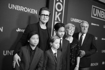 Jane Pitt 'Unbroken' Premieres in Hollywood — Part 2