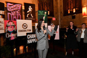 Sophia Bush speaks during the Jane Walker by Johnnie Walker Equal Rights Amendment Celebration with The ERA Coalition at The Campbell Bar on March 10, 2020 in New York City.