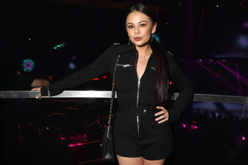 Janel Parrish Night One At Palms Casino Resort's KAOS Dayclub & Nightclub With Travis Scott And Skrillex For Grand Opening Weekend