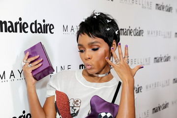 Janelle Monáe Marie Claire Celebrates 'Fresh Faces' with an Event Sponsored by Maybelline - Arrivals