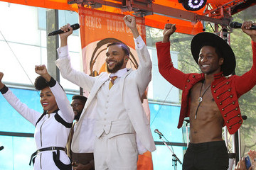 Janelle Monae Jidenna Janelle Monae Performs on NBC's 'Today'