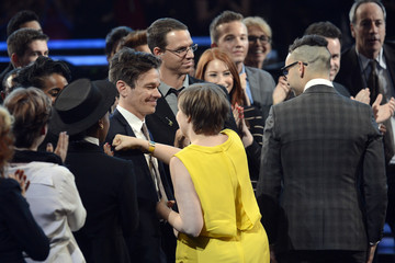 Janelle Monae Nate Ruess The 55th Annual GRAMMY Awards - Show