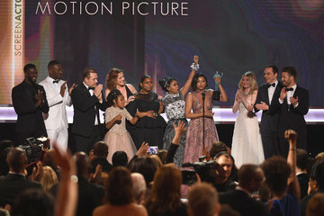 Janelle Monae Octavia Spencer The 23rd Annual Screen Actors Guild Awards - Show
