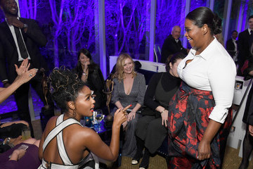 Janelle Monae Octavia Spencer 28th Annual Palm Springs International Film Festival - After Party