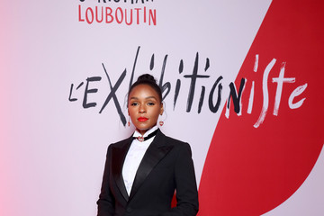 Janelle Monae Christian Louboutin Presents During - Paris Fashion Week Womenswear Fall/Winter 2020/2021 - Exhibition Opening 'L'Exhibition[niste]'