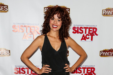 Janet Dacal 'Sister Act' Opening Night in Hollywood