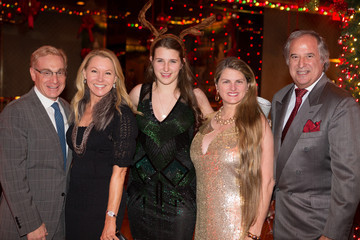 Janet Kagan Stewart F. Lane & Bonnie Comley's Holiday Party At Double's
