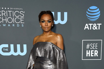 Janet Mock The 24th Annual Critics' Choice Awards - Arrivals