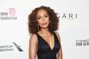 Janet Mock 26th Annual Elton John AIDS Foundation Academy Awards Viewing Party sponsored by Bulgari, celebrating EJAF and the 90th Academy Awards - Red Carpet