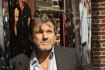 Jann Wenner Celebrities Visit 'Late Show With David Letterman'