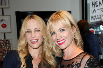 January Jones Celebs at the Artist in Residence Event