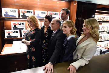 January Jones Launch For Matthew Weiner's Book 'Mad Men'
