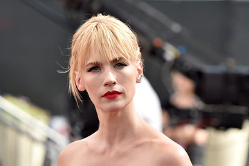 January Jones Arrivals at the 66th Annual Primetime Emmy Awards