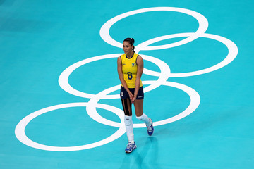 Jaqueline Carvalho Olympics Day 15 - Volleyball
