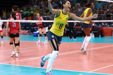 Jaqueline Carvalho Olympics Day 13 - Volleyball