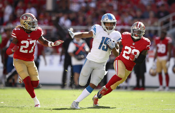 Detroit Lions vs. San Francisco 49ers