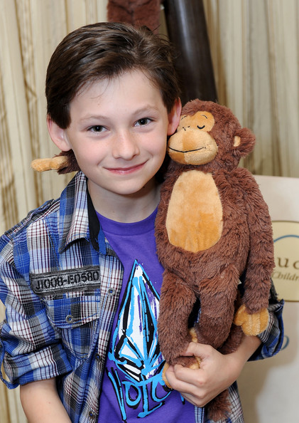 Jared Gilmore - 2011 DPA Golden Globes Gift Suite
