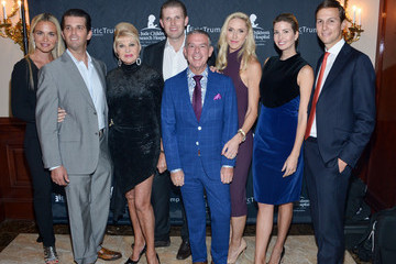 Jared Kushner Stars Attend the 9th Annual Eric Trump Foundation Golf Invitational Auction and Dinner