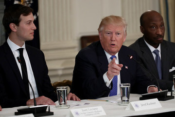Jared Kushner Trump Holds Listening Session With Manufacturing CEO's