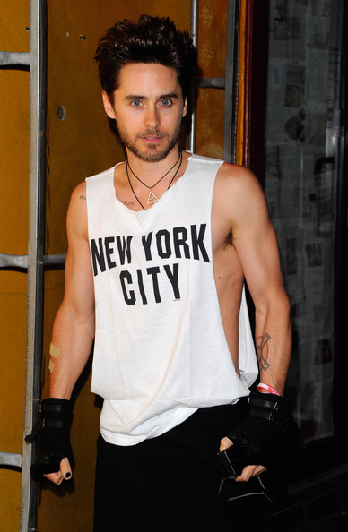 Jared Leto Actor Jared Leto attends the Barneys New York Celebrates Carine Roitfeld Party at The Westway on September 10, 2011 in New York City.