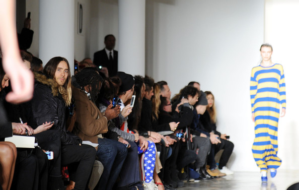 Front Row at the Jeremy Scott Show