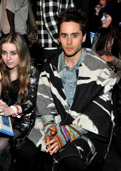 Jared Leto - G-Star - Front Row - Fall 2011 Mercedes-Benz Fashion Week