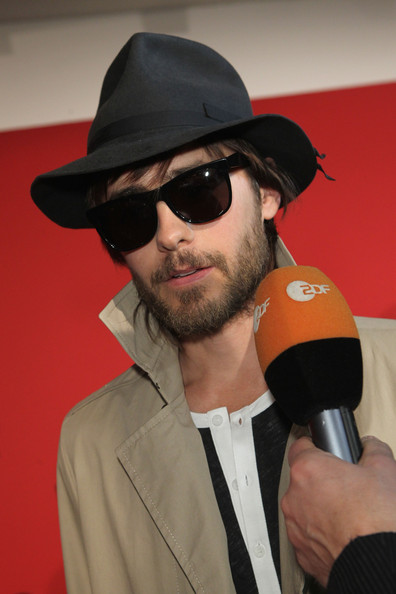 Jared Leto - Hugo by Hugo Boss Show - Mercedes-Benz Fashion Week Berlin Autumn/Winter 2012