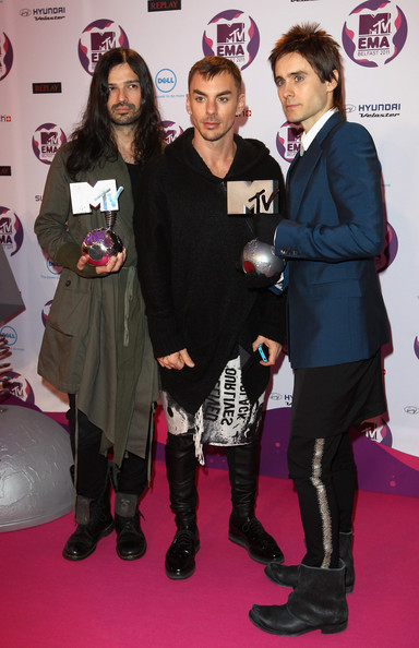 Jared Leto - MTV Europe Music Awards 2011 - Media Boards