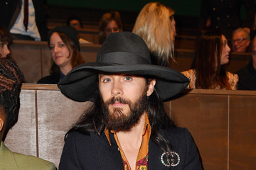 Jared Leto Gucci - Front Row - Milan Meanswear Fashion Week Fall/Winter 2020/21