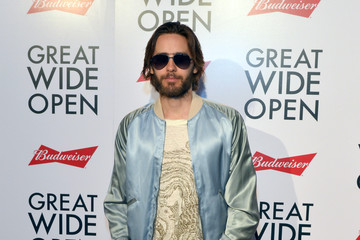 Jared Leto The Premiere of 'Great Wide Open' Produced in Partnership With Budweiser
