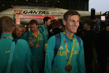 Jared Tallent Australian Olympic Athletes Welcome Home