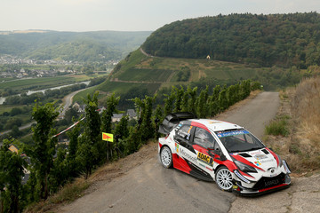 Jari-Matti Latvala FIA World Rally Championship Germany - Day Two