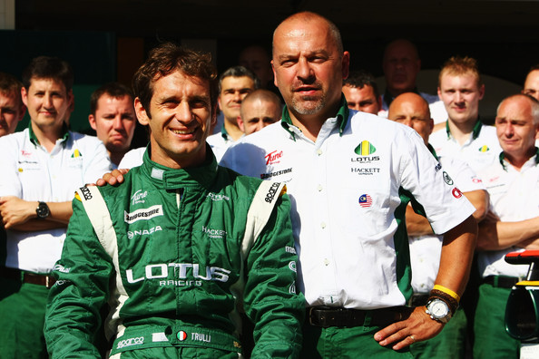 Mike Gascoyne and Jarno Trulli - European F1 Grand Prix - Previews