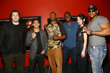 Jarrell Miller 'The Raid 2' Screening in NYC