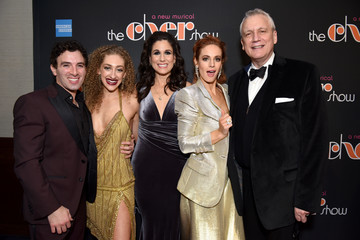 Jarrod Spector Teal Wicks 'The Cher Show' Broadway Opening Night - After Party
