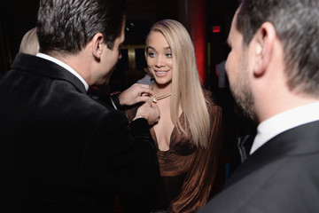 Jasmine Sanders Elton John AIDS Foundation's 15th Annual An Enduring Vison Benefit at Cipriani Wall Street