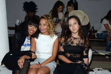 Jasmine Solano Houghton - Front Row - Spring 2016 MADE Fashion Week