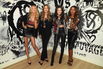 Jasmine Tookes Angels Adriana Lima, Jasmine Tookes, Josephine Skriver, Romee Strijd Celebrate The Victoria's Secret Fashion Show and The New VS X BALMAIN